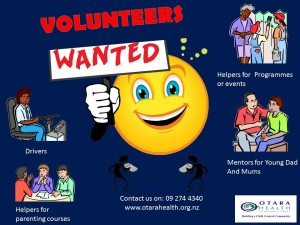 Volunteerswanted